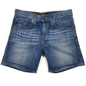 Big Star Distressed Denim Joey Slouchy Shorts